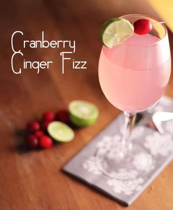 Cranberry Ginger Fizz new