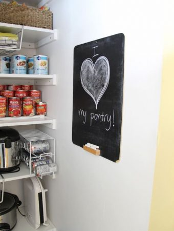 Our Functional Pantry Make-Over