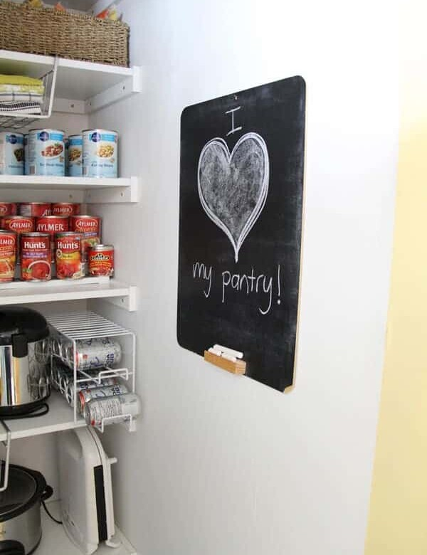 functional pantry make over