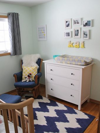 Kai's Cheerful Cozy Nursery