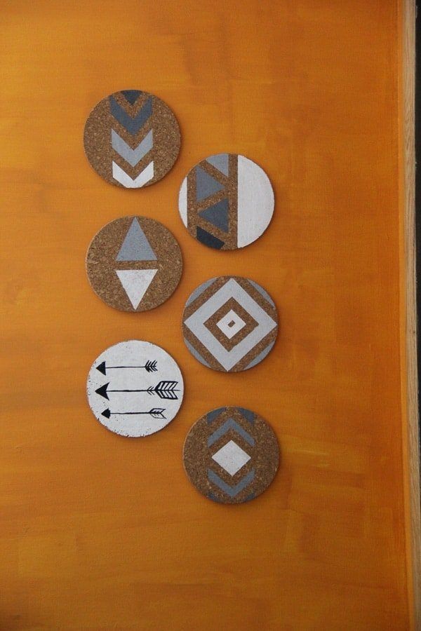 cork board art featured