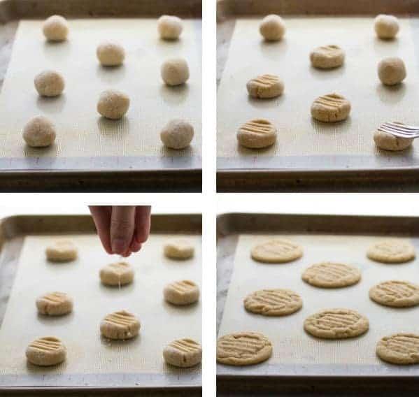 Salted Peanut Butter Nutella Sandwich Cookies |sweetpeasandsaffron.com