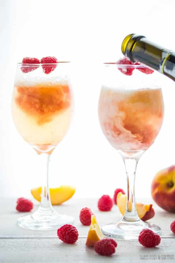 peach raspberry bellinis A-7wm