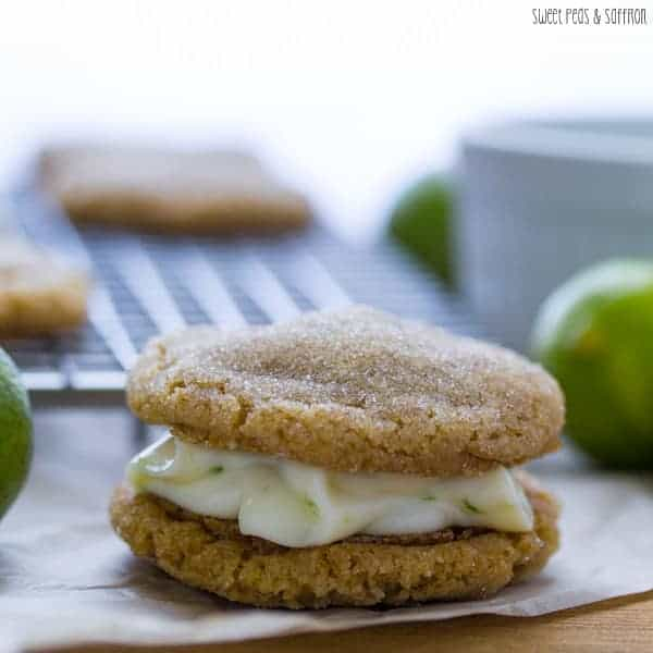Key Lime Sugar Cookies Recipe — Dishmaps