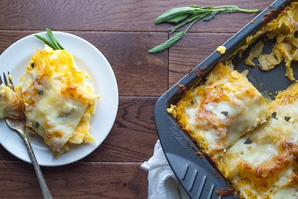 Healthier Butternut Squash Lasagna Recipe
