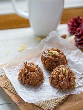 No-Bake Almond Joy Cookie Recipe (15 minutes)