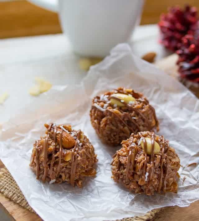 No-Bake Almond Joy Cookie Recipe