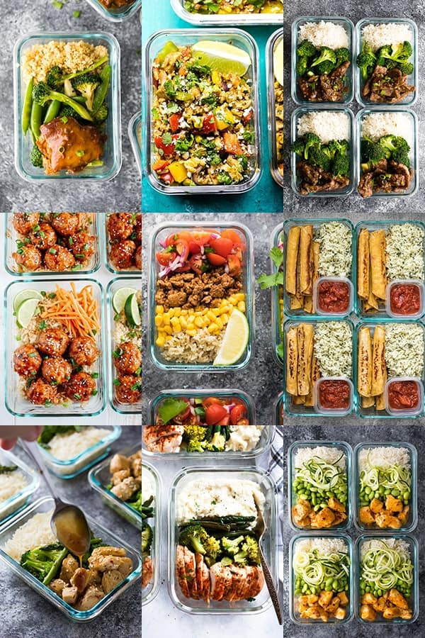 54 Healthy Lunch Ideas For Work- hot lunches