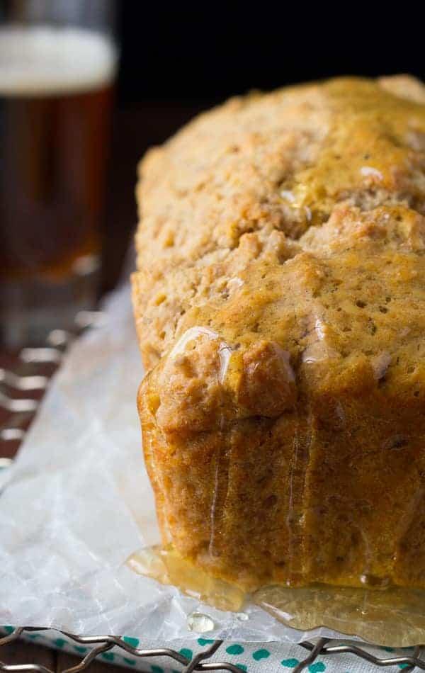 Honey Rye Beer Bread | Sweet Peas and Saffron