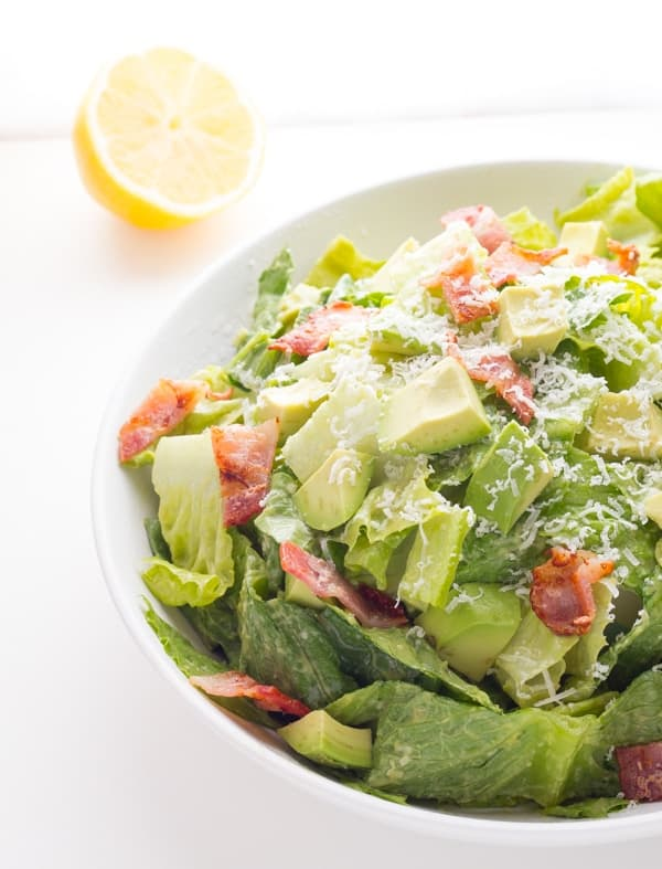 Avocado Caesar Salad Dressing