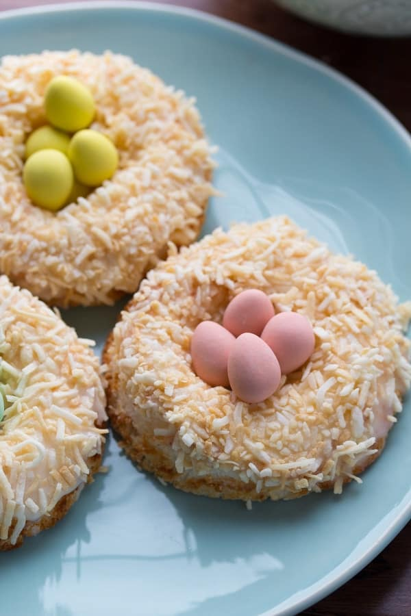 Lemon & Coconut Angel Food Donuts-5