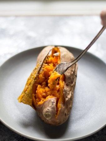 Ultra Creamy Crock Pot Sweet Potatoes