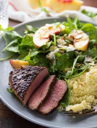 Pan-Seared Lamb Chops with Easy Brown Sugar Chili Rub