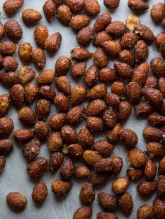 Chai and Honey Roasted Almonds