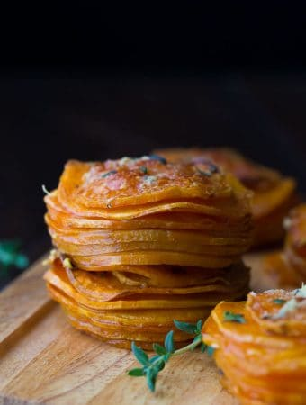 Herbed Sweet Potato Stacks