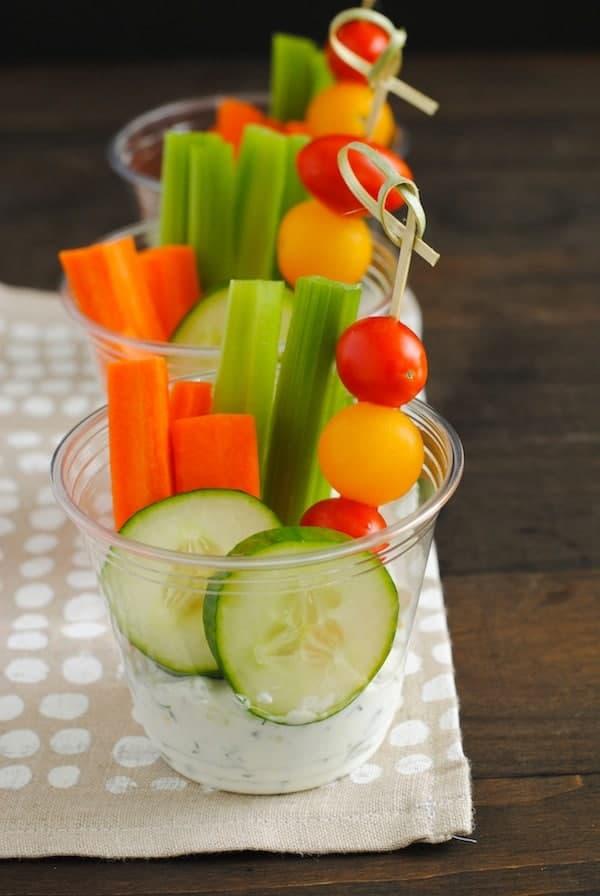 Veggies-Dip-Cups