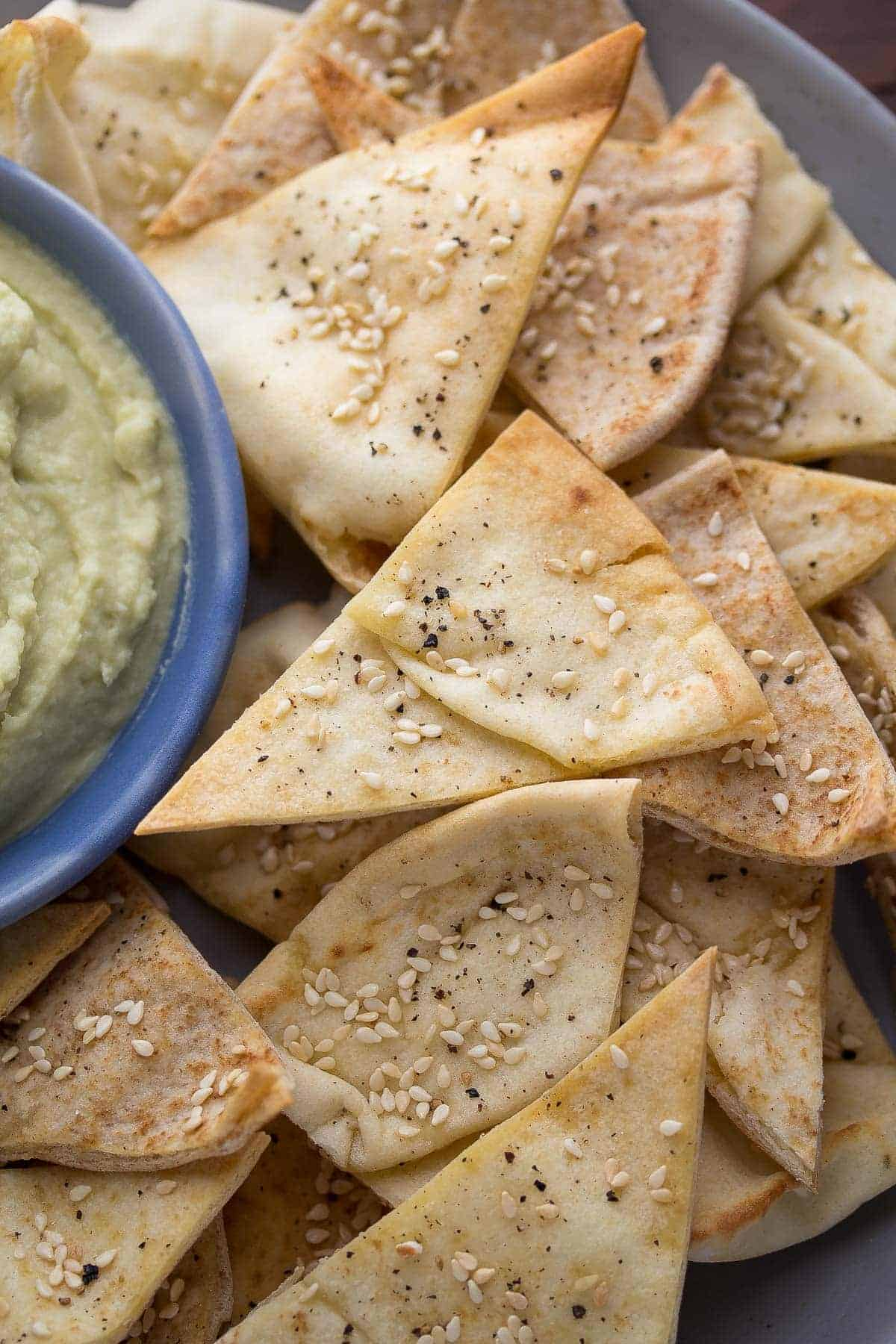 Avocado White Bean Dip with Wasabi and Ginger
