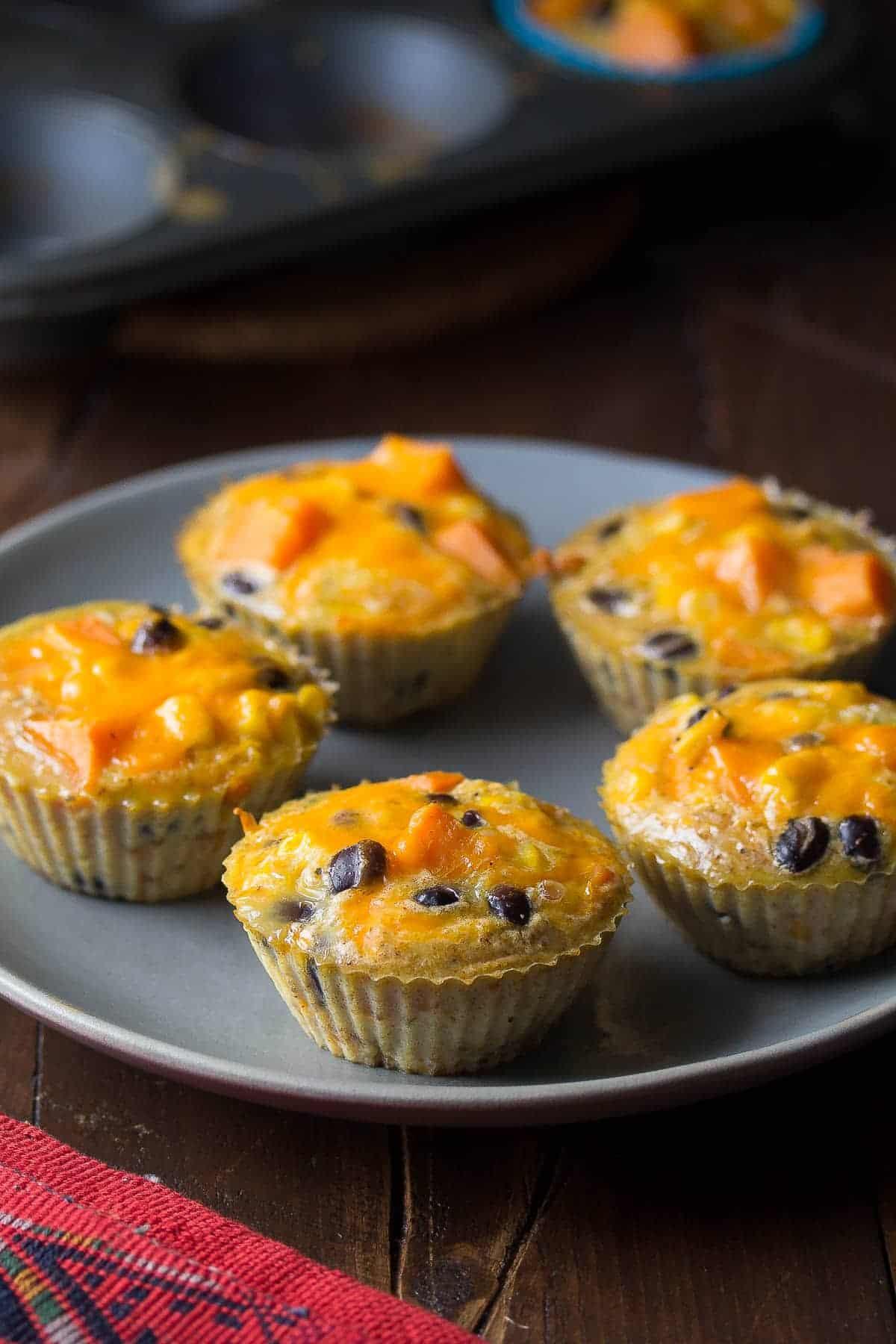 Southwestern Sweet Potato Egg Muffins