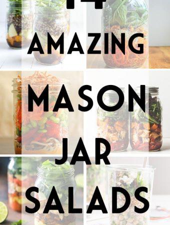 14 Healthy Mason Jar Salad Recipes
