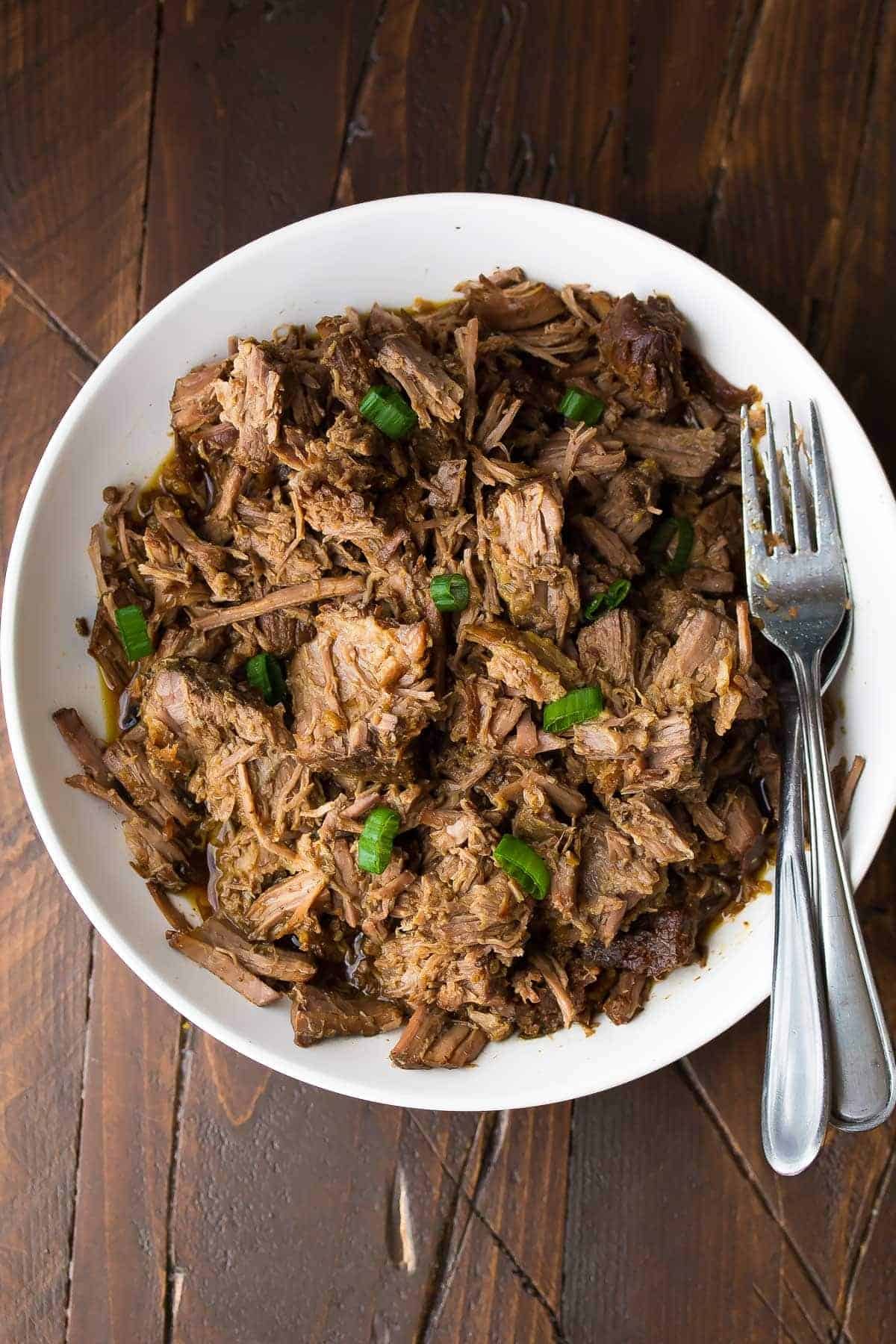 Slow Cooker Honey Garlic Beef-8