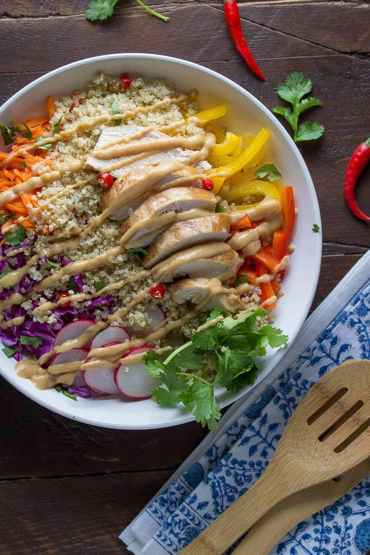 Thai Chicken Quinoa Salad_