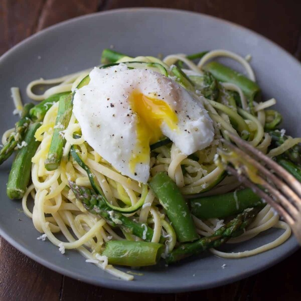how to cook asparagus- add it to pasta recipes