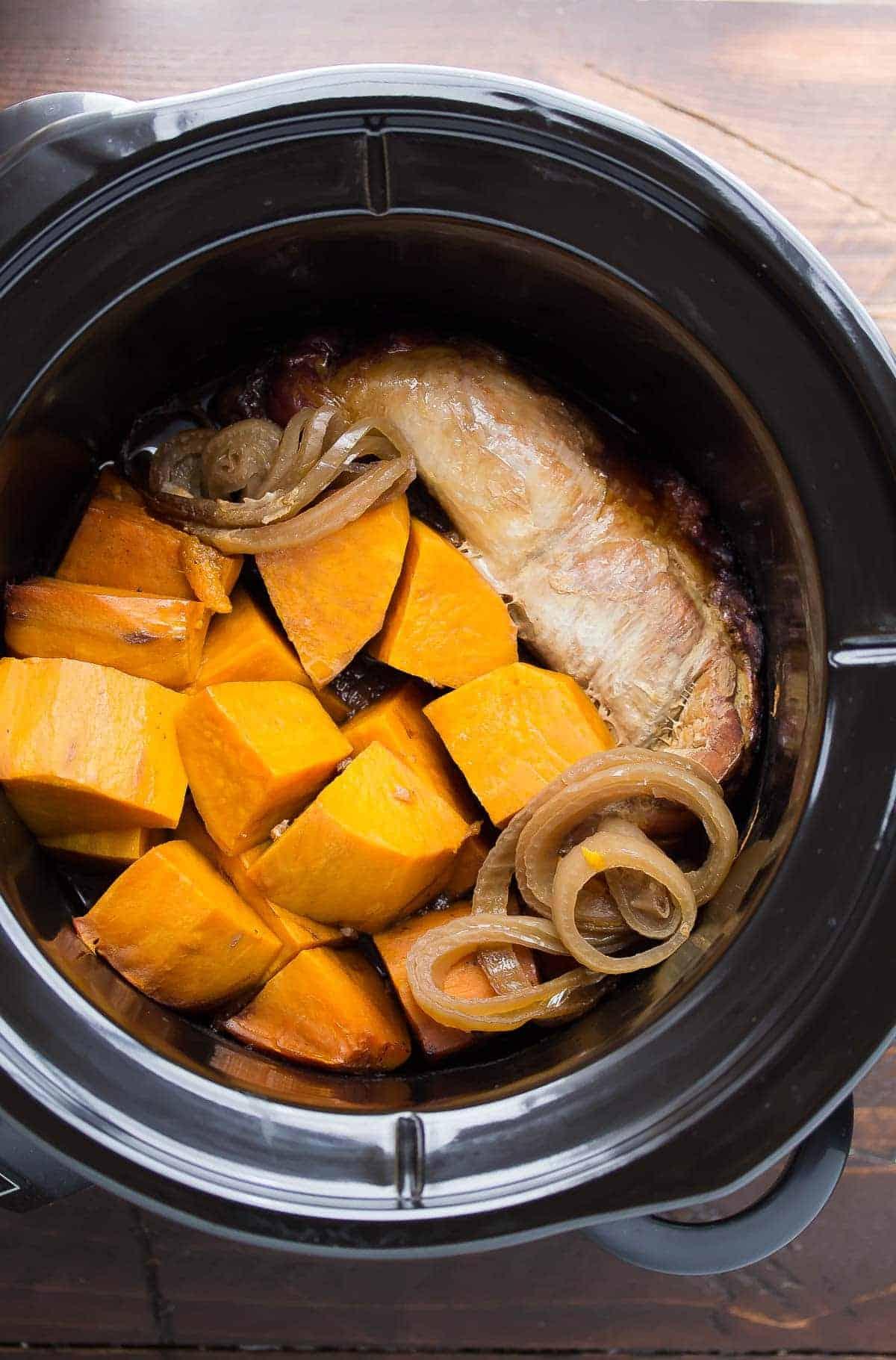 tangy pork tenderloin slow cooker