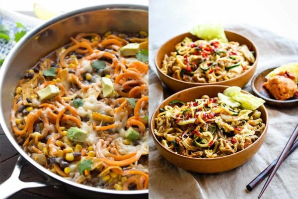 24+ Creative Spiralizer Recipe Ideas