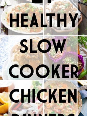 21 Healthy Slow Cooker Chicken Dinner Recipes