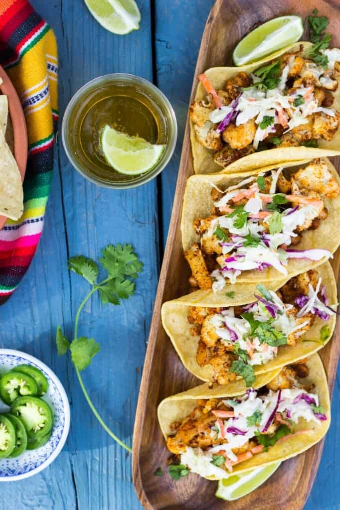 BBQ-Cauliflower-Chickpea-Tacos-with-a-Creamy-Lime-Slaw-1228-682x1024