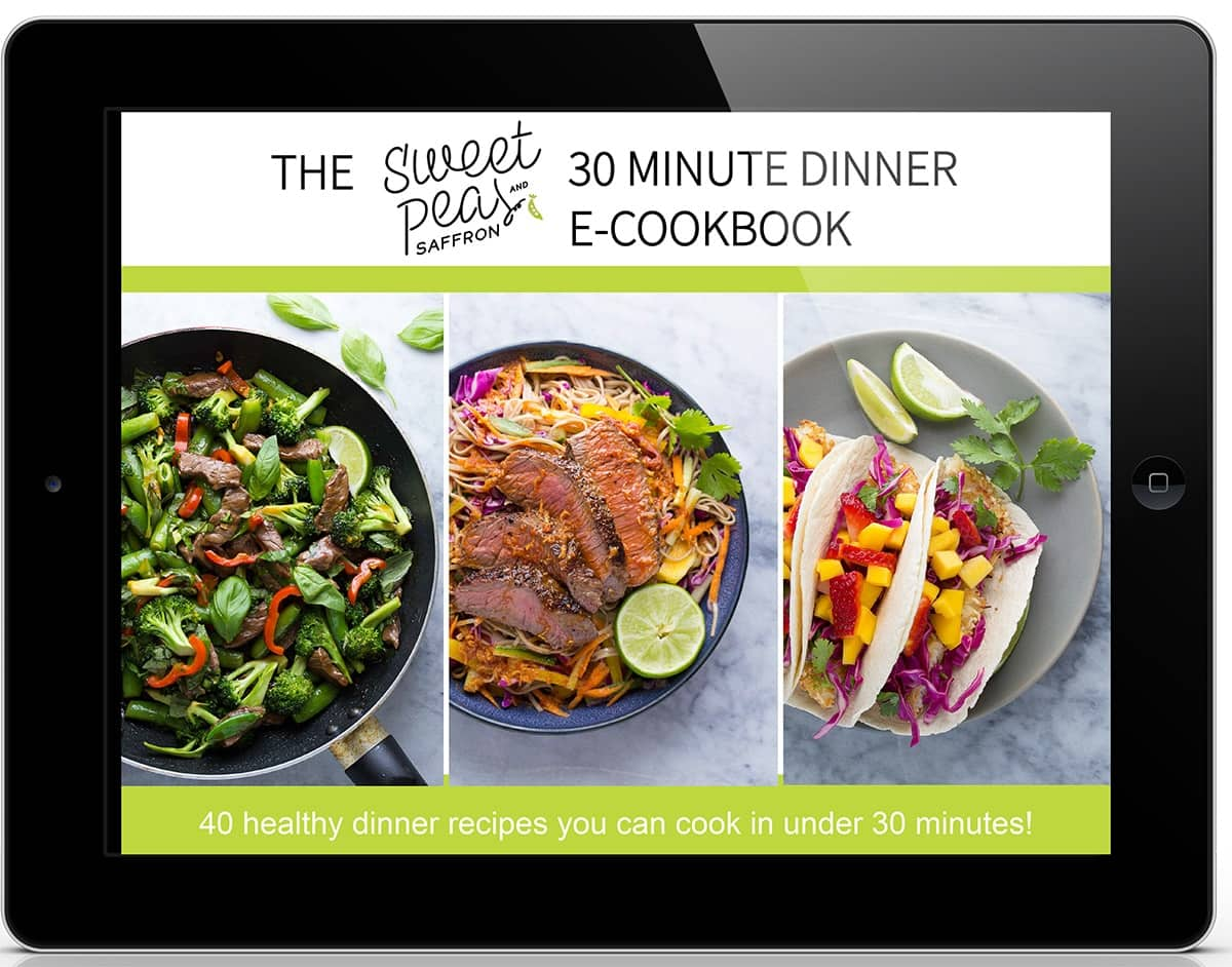40 recipe ebook mock-up