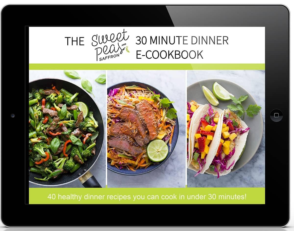 40 recipe ebook mock-up