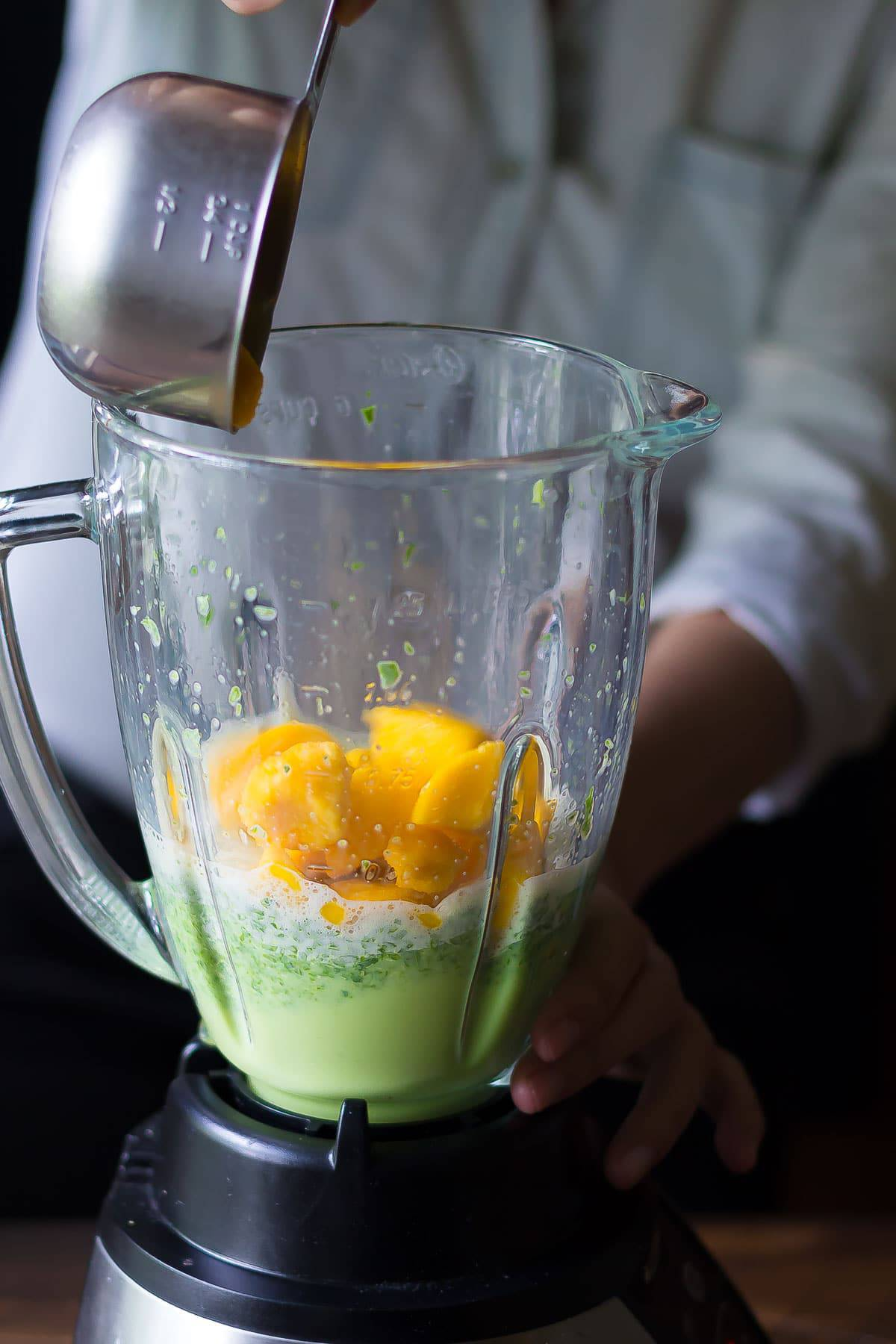 Green Mango Superfood Smoothie