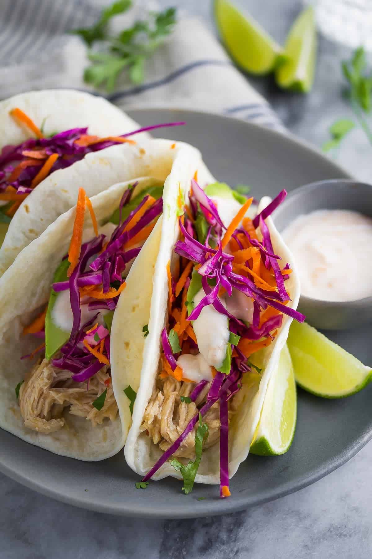 slow cooker sweet chili chicken tacos-2