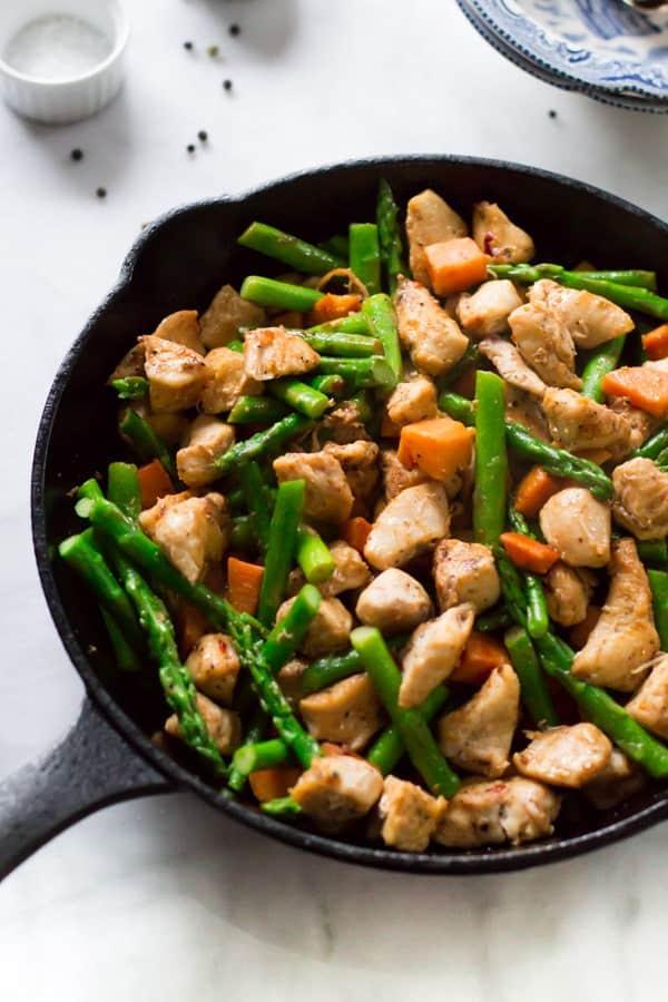 15-Minute Dinner: Sweet Pea and Basil Pesto