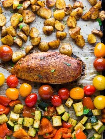 Paprika Chicken Sheet Pan Dinner