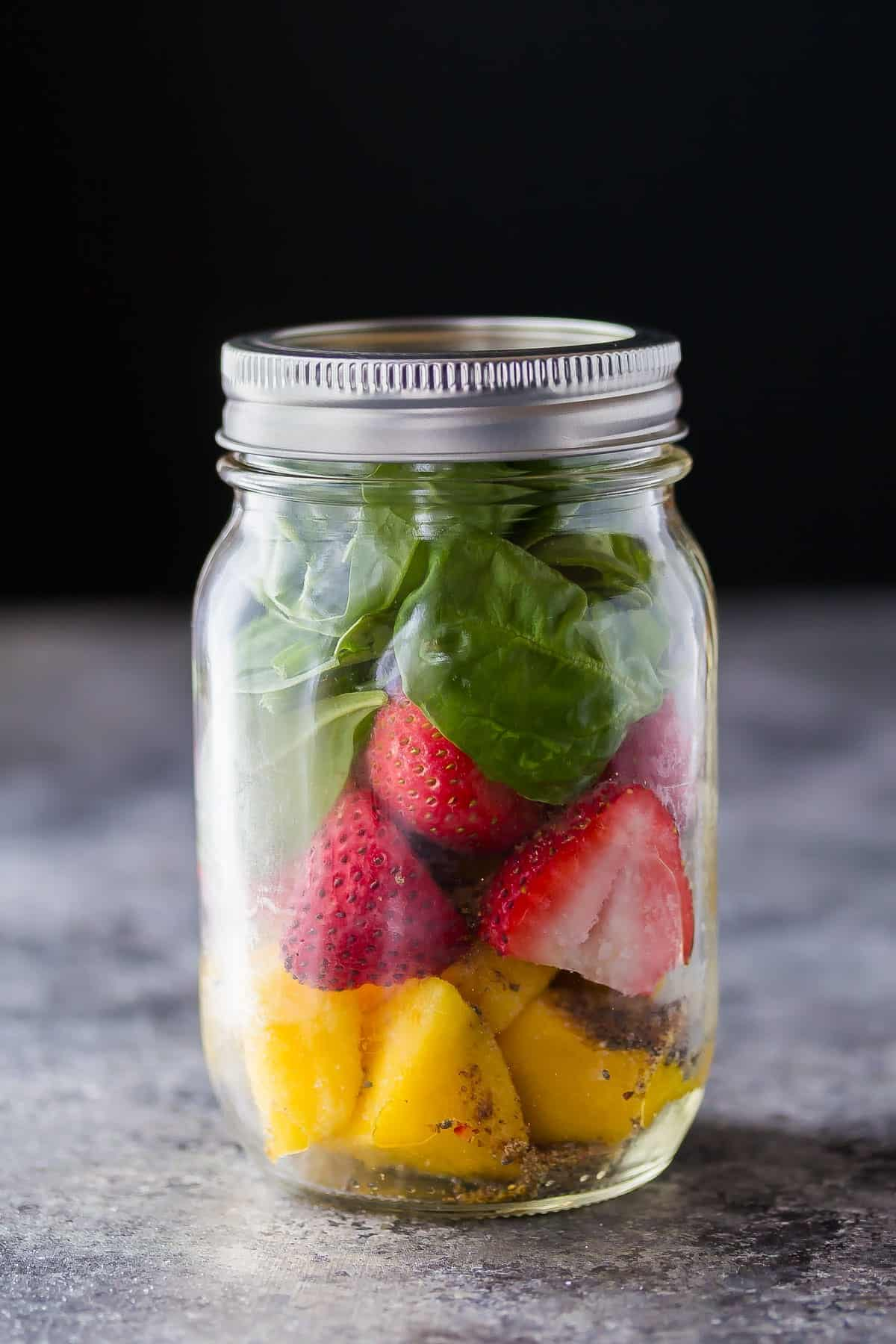 Strawberry Mango Chai Smoothie
