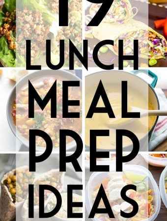 38 Easy Lunch Meal Prep Ideas (+ Video)