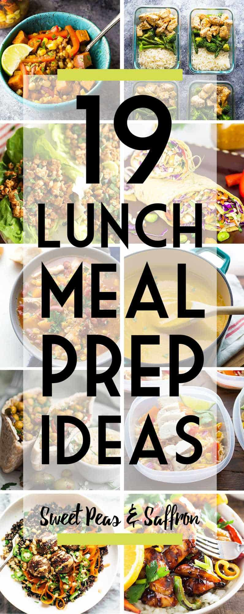 38 Easy Lunch Meal Prep Ideas Updated Sweet Peas And