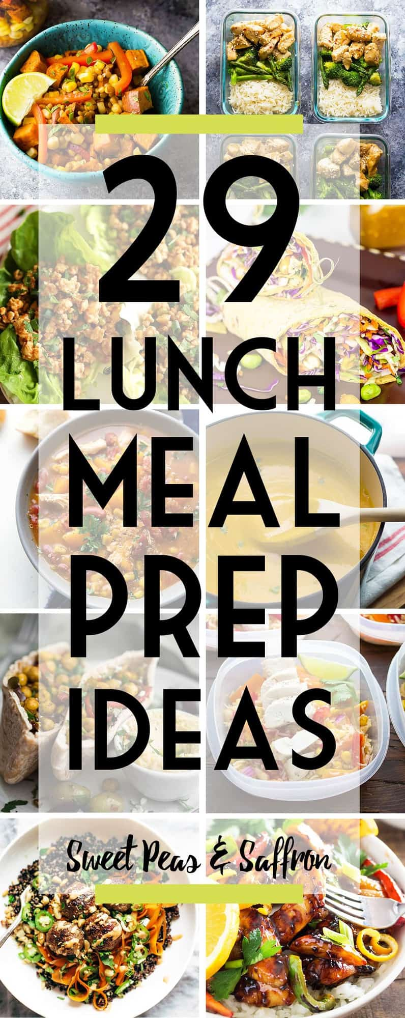 38 easy lunch meal prep ideas video sweet peas and saffron these 38 easy lunch meal prep ideas prove that eating healthy can be delicious and is forumfinder Image collections