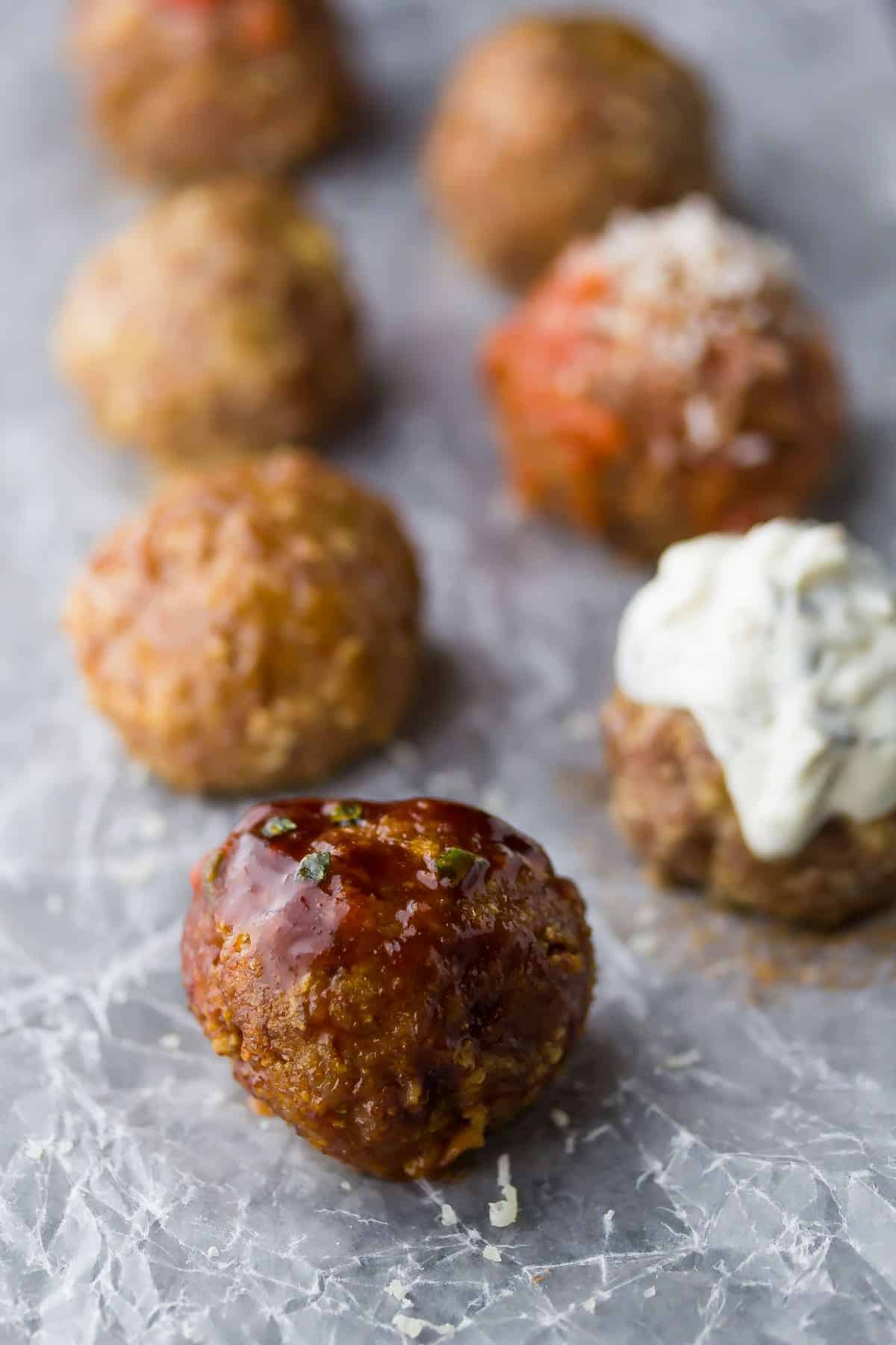 baked-turkey-meatballs-7-ways-2