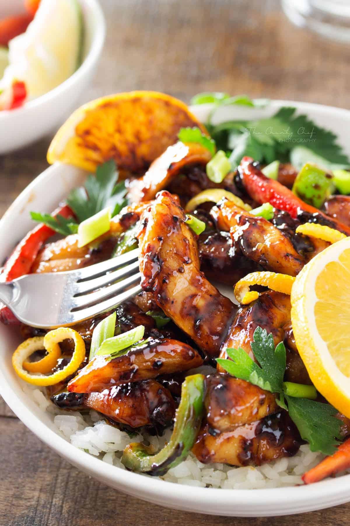 cajun-honey-glazed-chicken-bowls-7