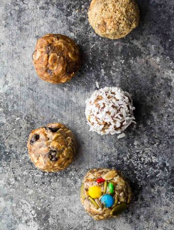 No Bake Energy Bites 7 Ways (Make Ahead)
