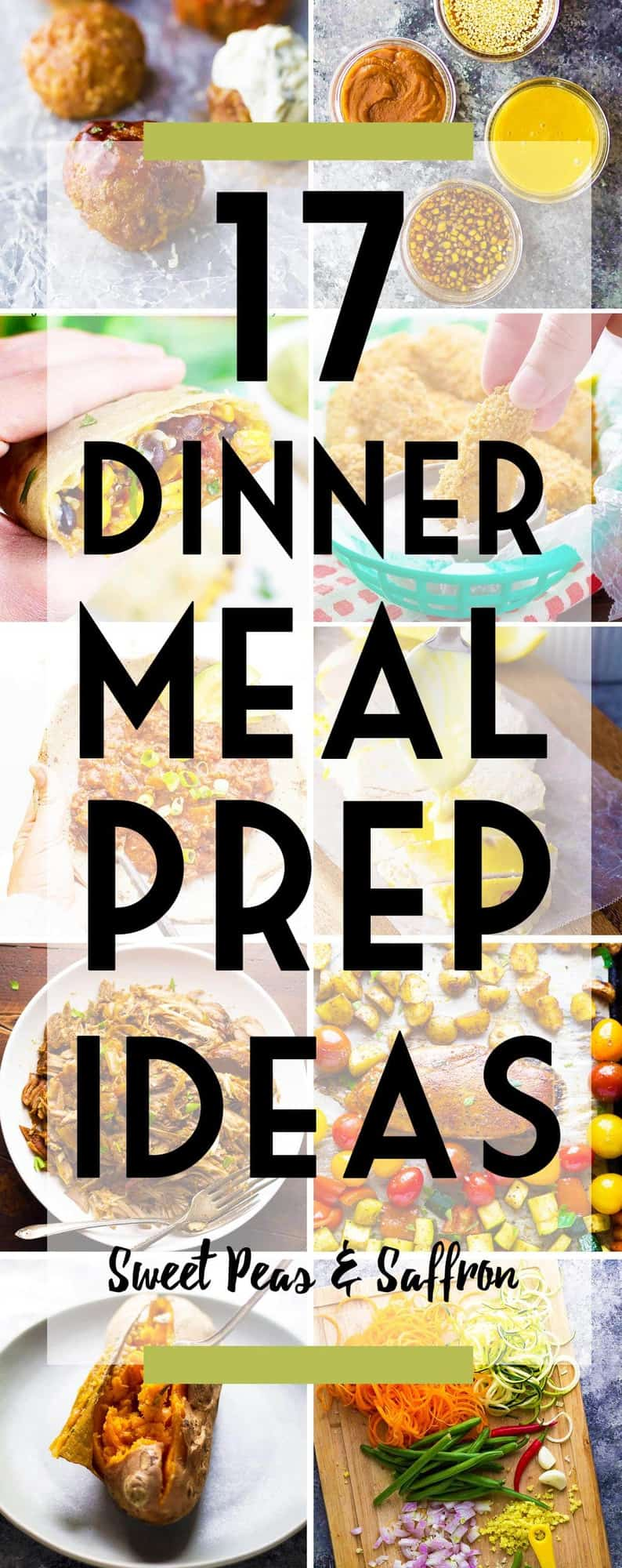17 Healthy Dinner Meal Prep Ideas