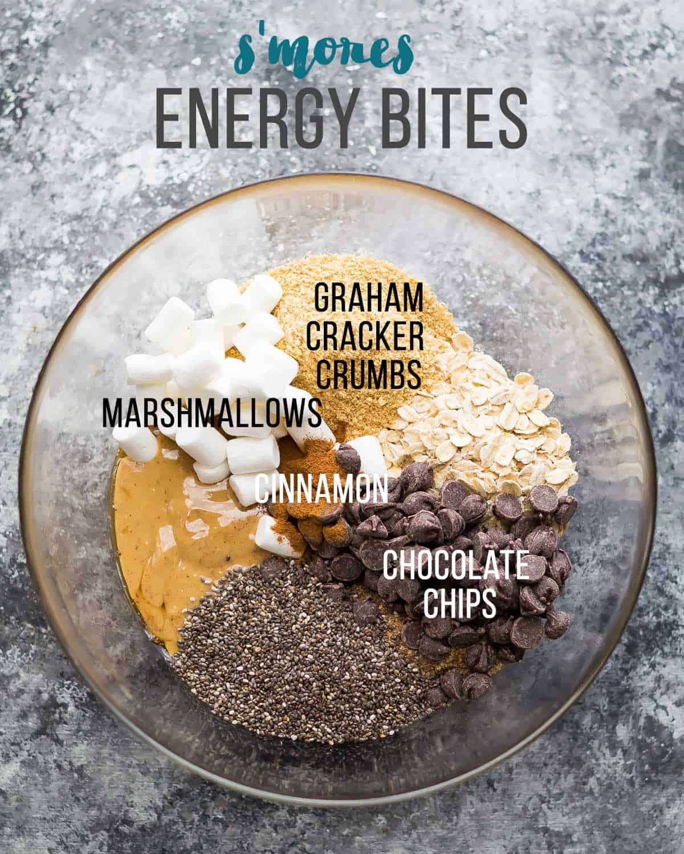 S'mores Energy Bites