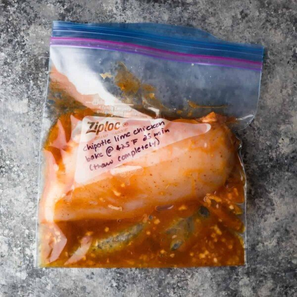 chipotle chicken marinade in bag
