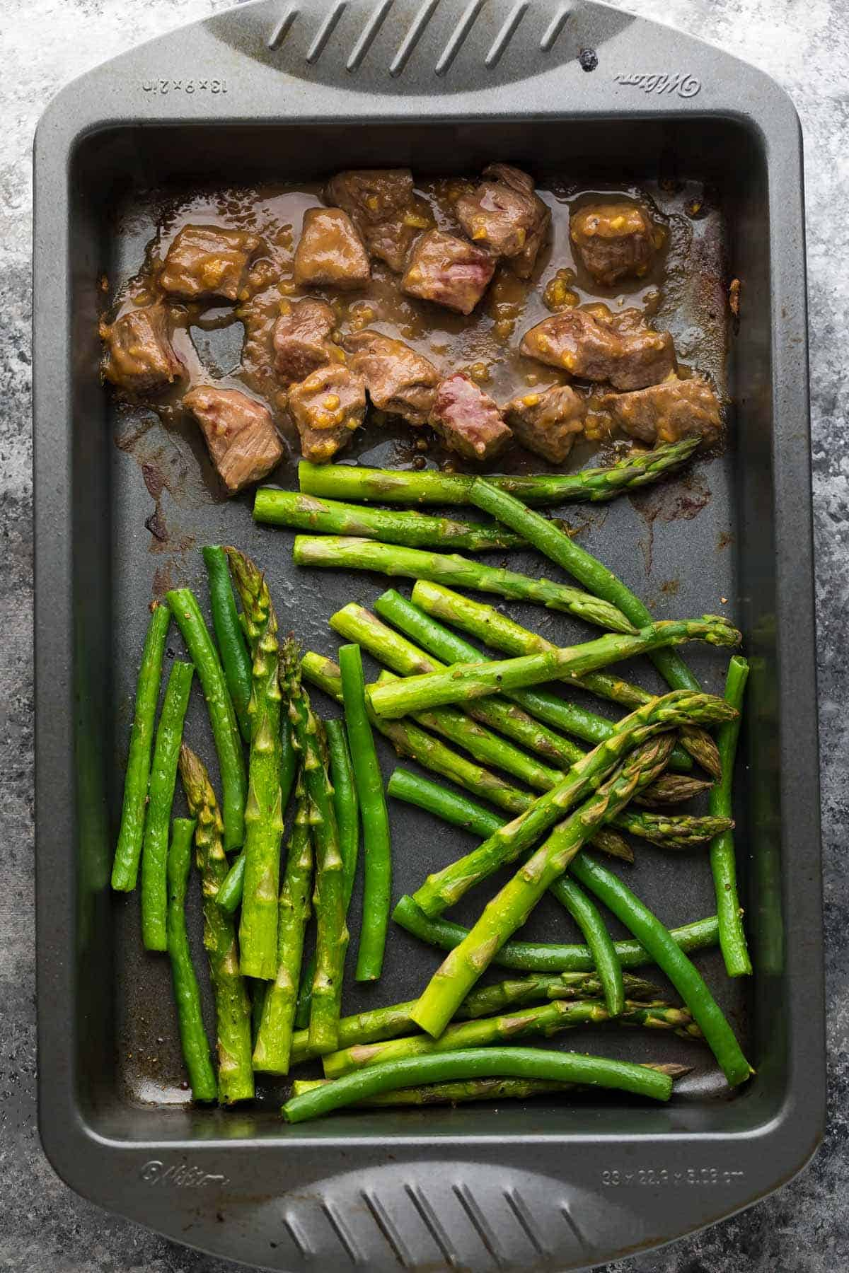 Make ahead hoisin ginger steak asparagus green beans sweet prep this hoisin ginger steak along with the asparagus green beans ahead of time for ccuart Gallery