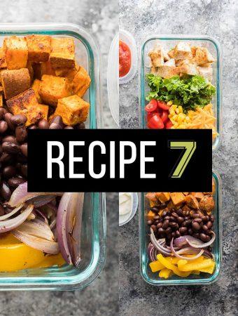 Lunch Prep Challenge Week 3 Vegetarian