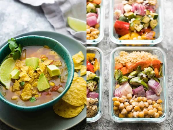 59 vegan meal prep recipes including vegan lunch recipes that will have you covered for convenient plant-based breakfasts, lunches, dinners and snacks!