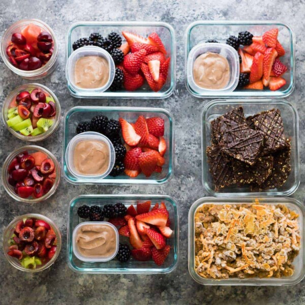 4 Fruit Filled Meal Prep Snacks Sweet Peas And Saffron